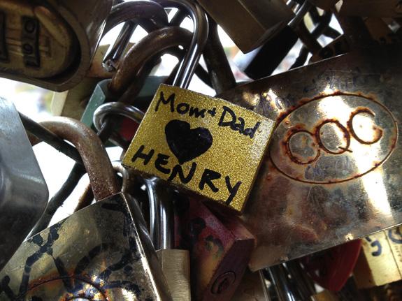 Henry's Love Lock
