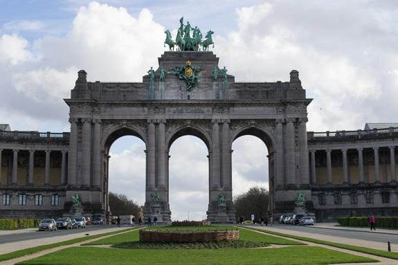 Parc du Cinquantenaire Triumphal Arch