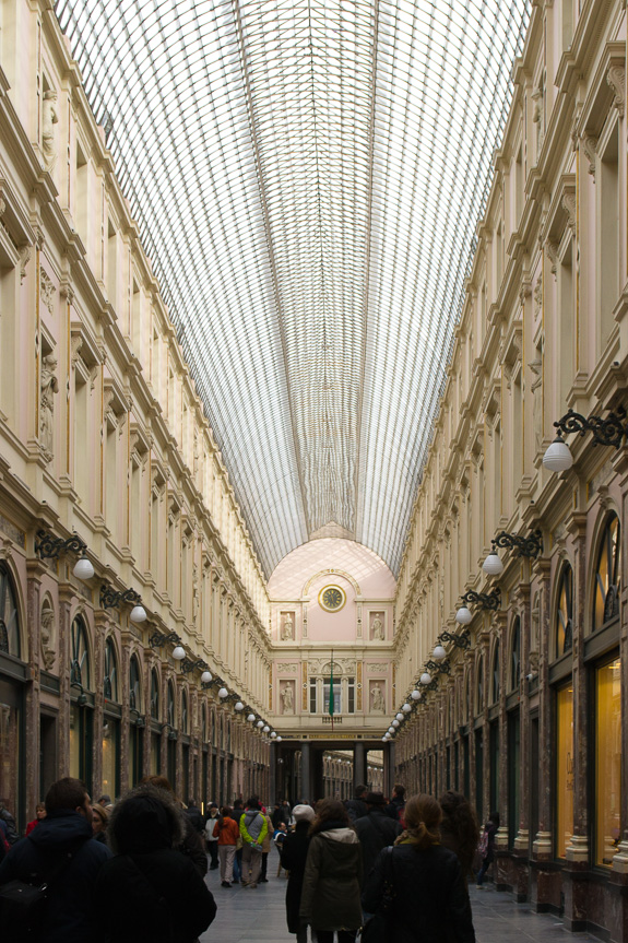 The Galeries Royales Saint-Hubert