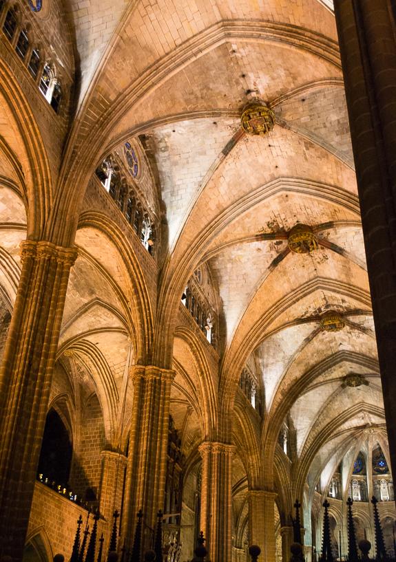 Barcelona Catedral Inside