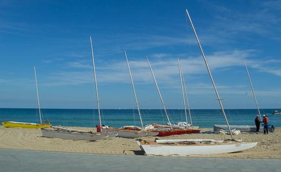 Barceloneta Boats