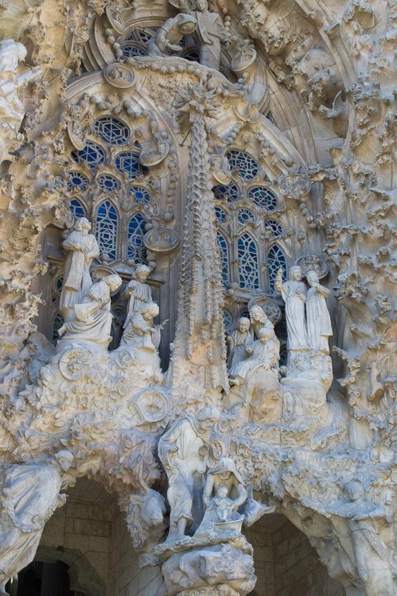 La Sagrada Nativity Facade