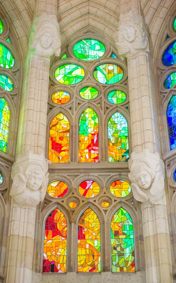 La Sagrada Stained Glass